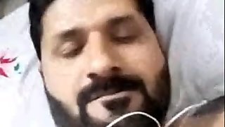 irfan masturbate his self in messenger call video