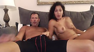 unknown cam couple that swings - first time on cam